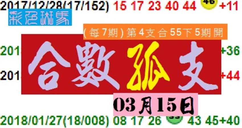 2018彩色斑馬港號合數孤支03月15日分享版努力永不停歇加油!! - 兔寶   FUN01 創作分享