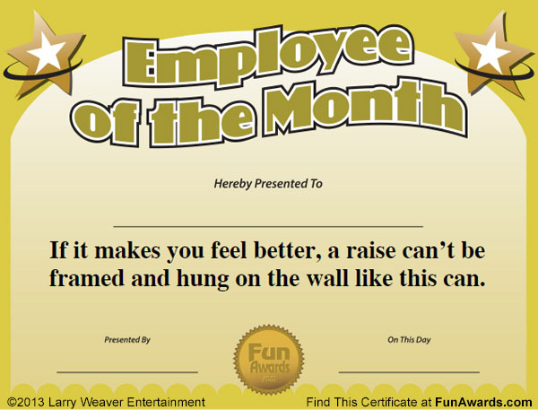 Fun Certificate Templates - FREE DOWNLOAD
