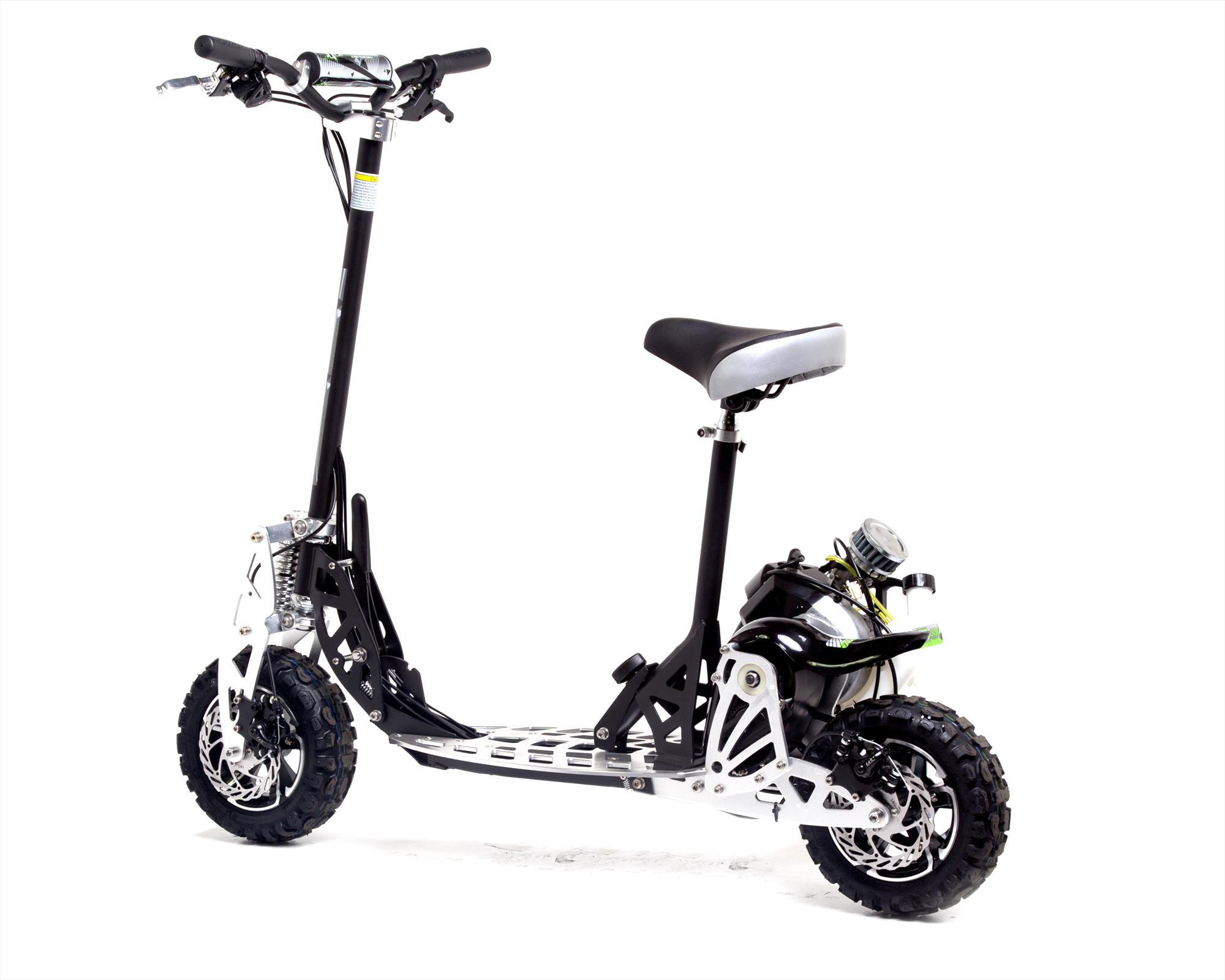 Uber Scoot 2x 50cc Petrol Scooter Big Wheel Off Road