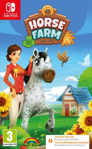 Horse Farm [Code-in-Box] – Nintendo Switch