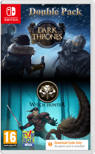 Dark Thrones / Witch Hunter Double Pack   Nintendo Switch [Code-in-Box]