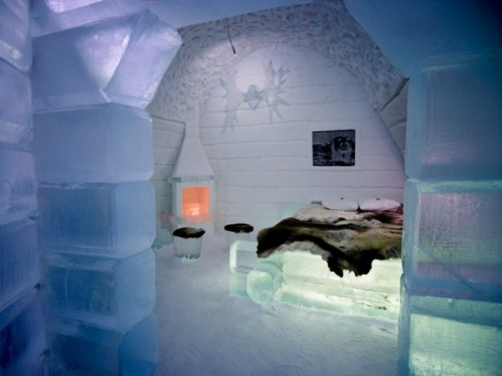 Hotel Made Of Ice And Snow In Sweden 26 Photos Funcage