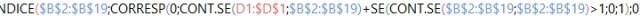 Listar dados repetidos em uma coluna (7)