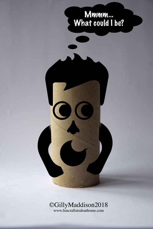 craft with toilet paper rolls