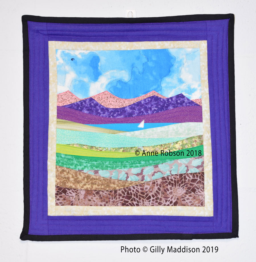 Landscape Quilting – Wow – I'm Going To Be Learning This and So Can You!