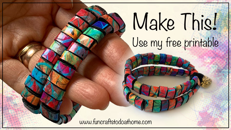 Paper Beads – Another Free Printable For You!