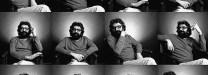 Karam, em montagem com fotografias de Gloria Flügel