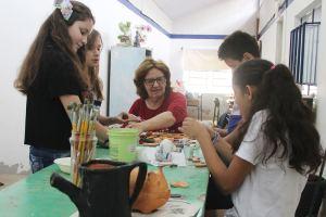 Alunos e professores apresentam trabalhos desenvolvidos na Barra do Trombudo, Bela Aliança e Santa Rita | Foto: Iasmin Beirão