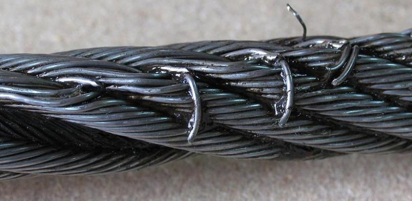 Inspección de cables de acero