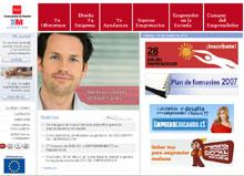 Portal 'emprendelo' de la Comunidad Autónoma de Madrid