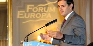 Albert Rivera en el Forum Europa de Nueva Economía