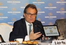 Artur Mas en el Fórum de Nueva Economía