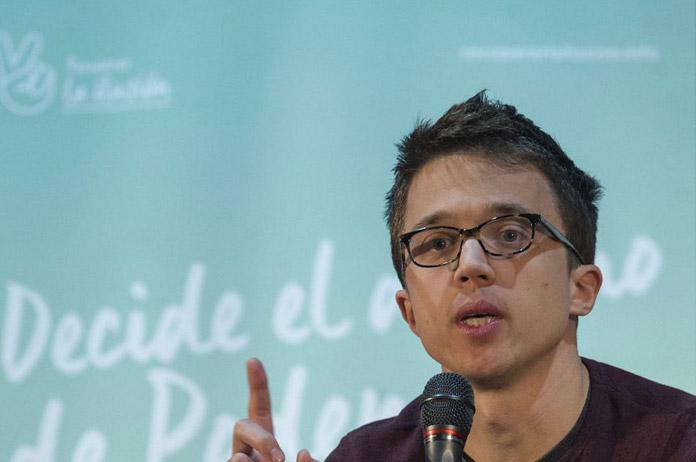 FOTO: Íñigo Errejón durante un acto de