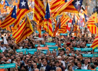 La obscenidad de la independencia catalana | FOTO: AFP