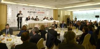 Guillermo Fernández Vara en los Desayunos Informativos de Europa Press