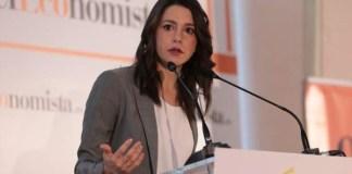 Inés Arrimadas en el Ágora de El Economista.   FOTO: ElEconomista.es