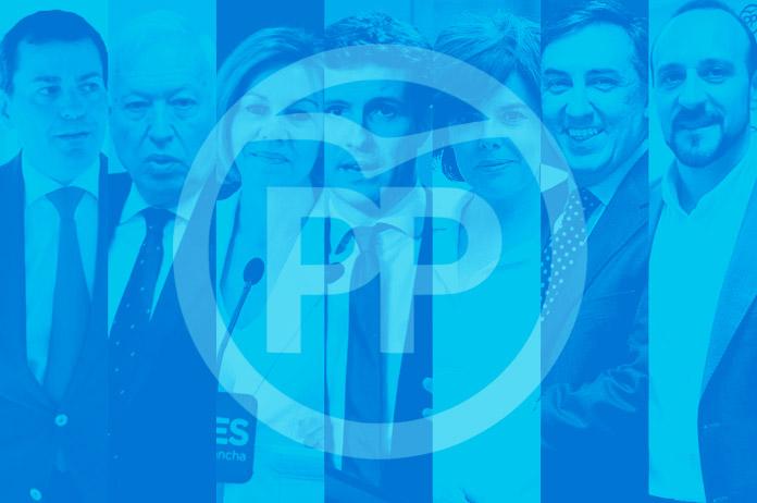Los candidatos a la presidencia del PP