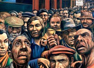 ILUSTRACIÓN: Antonio Berni (1905-1981). 1934 Demonstration (Museum of Latin American Art, Buenos Aires, Argentina)