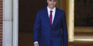 Pedro Sánchez en Moncloa / FOTO: Angel Navarrete/Bloomberg