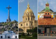 Mausoleos de Franco, Napoleón y Lenin