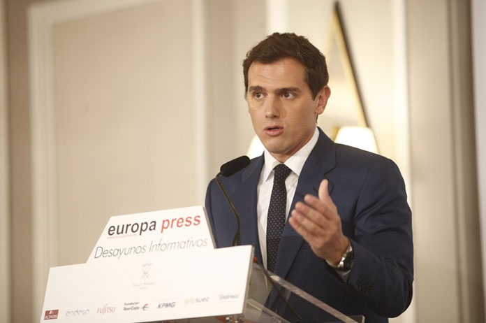 Desayuno Europa-Press. Miércoles 3 de abril. Albert Rivera