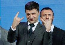 El presidente electo de Ucrania, Volodimir Zelinski. | Agencia EFE