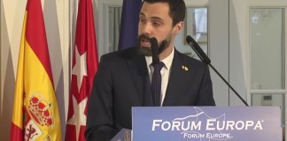 Roger Torrent en el Forum Europa