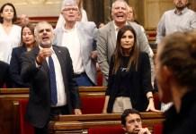Rebelión del secesionismo catalán