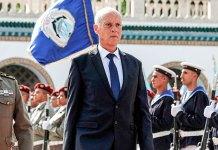 El presidente de Túnez Kais Saied