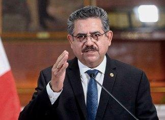 Manuel Merino, ex presidente del Perú