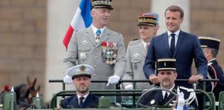 Depuración radical en el Ejército francés