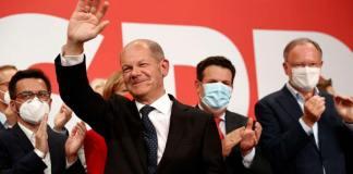 Los socialistas ganan las elecciones aun ganando la CDU la urna de los distritos