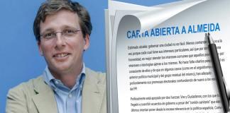 Carta abierta a José Luis Martínez-Almeida