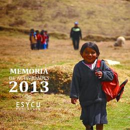 memoria actividades fundacion esycu 2013