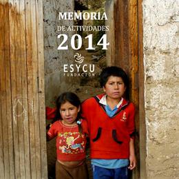 memoria actividades fundacion esycu 2014