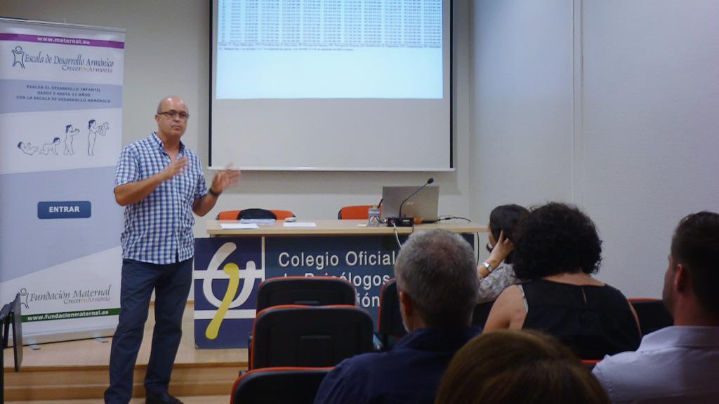 Presentación de la EDA en el Colegio Oficial de Psicólogos