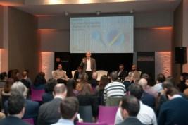 Momento de la presentación del estudio eEspaña-Turismo