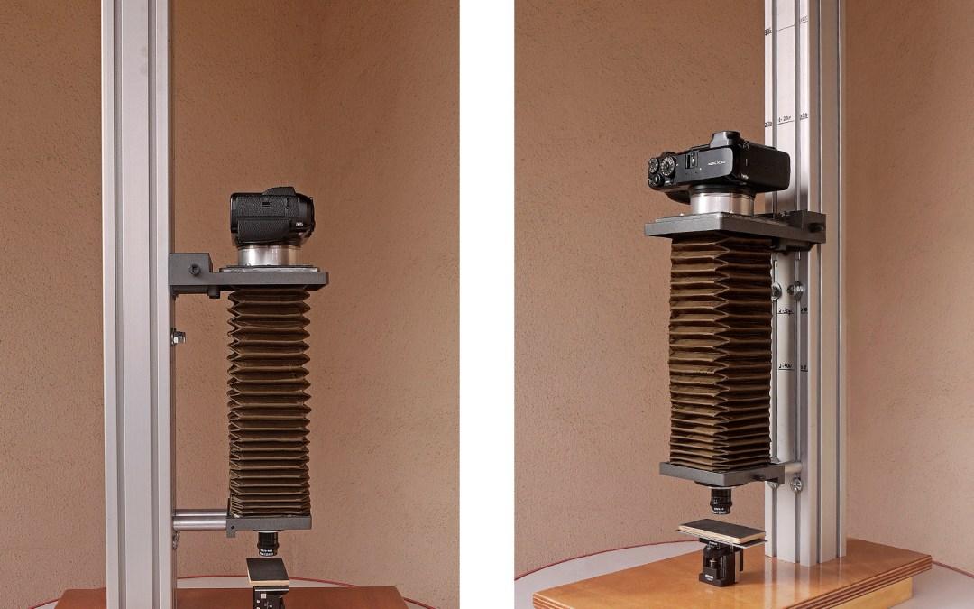 Construcción de la BONET III o cómo reemplazar un microscopio por un macro extremo.