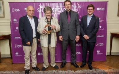 Augusto Fernandes: Premio Shakespeare 2017