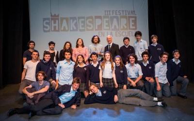 Festival Shakespeare en la Escuela: Diplomas y Premio Shakespeare de SECUNDARIA