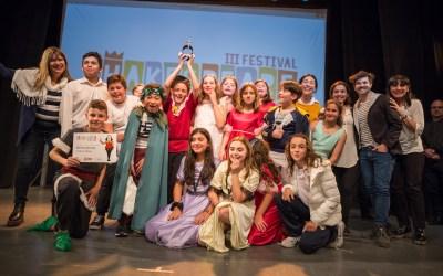 Festival Shakespeare en la Escuela PRIMARIA: Diplomas y Premio Shakespeare