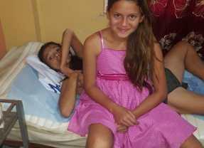 Fundación Santa Barbara brindó ayuda a discapacitada  Violada