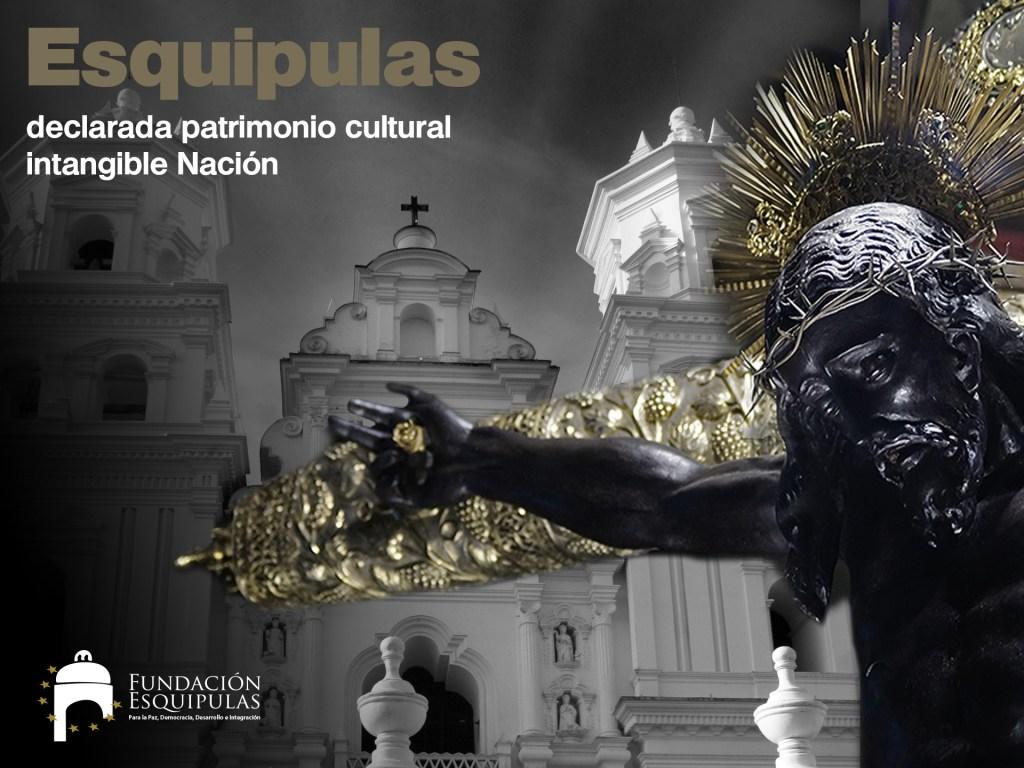 Felicitaciones: Esquipulas Patrimonio Cultural de la Nación