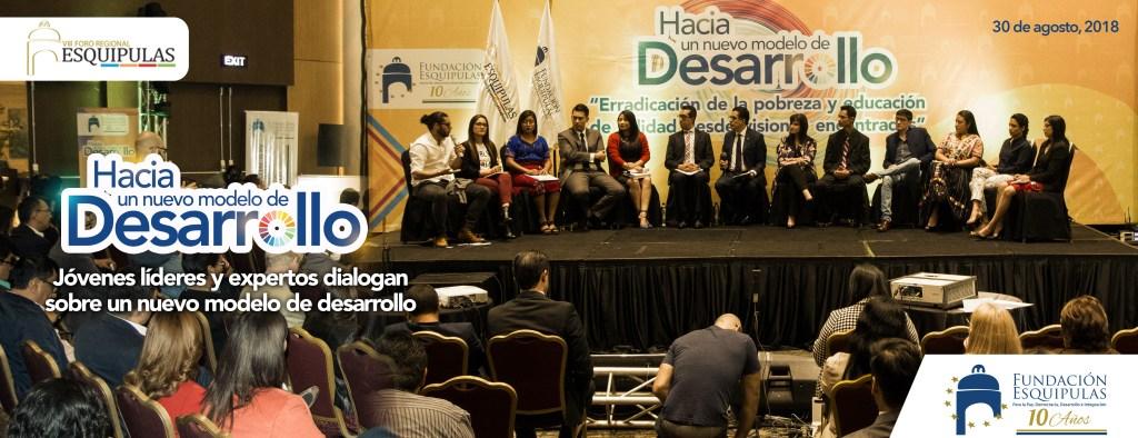 Jóvenes líderes y expertos dialogan sobre un nuevo modelo de desarrollo