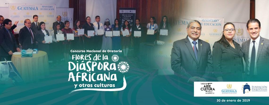Concurso Nacional de Oratoria Flores de la Diáspora Africana y otras culturas