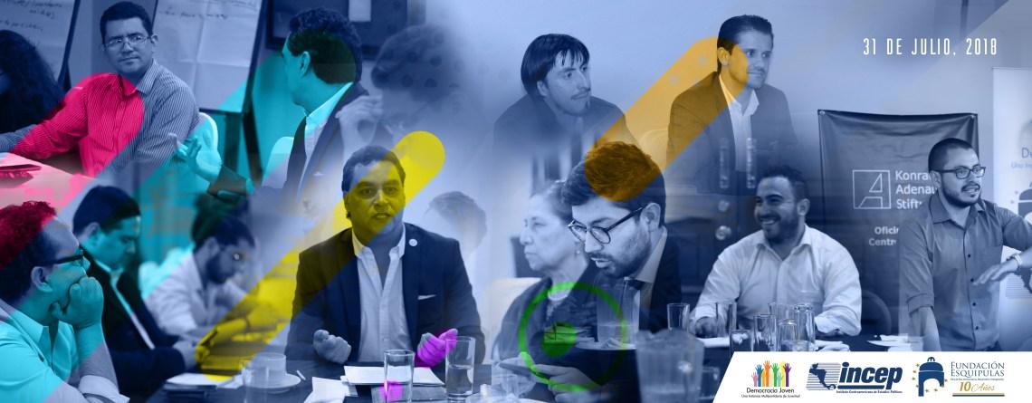 """Democracia Joven """"Sistema de partidos políticos en Guatemala: una revisión desde la visión de la juventud"""". 5ta. Sesión de trabajo"""
