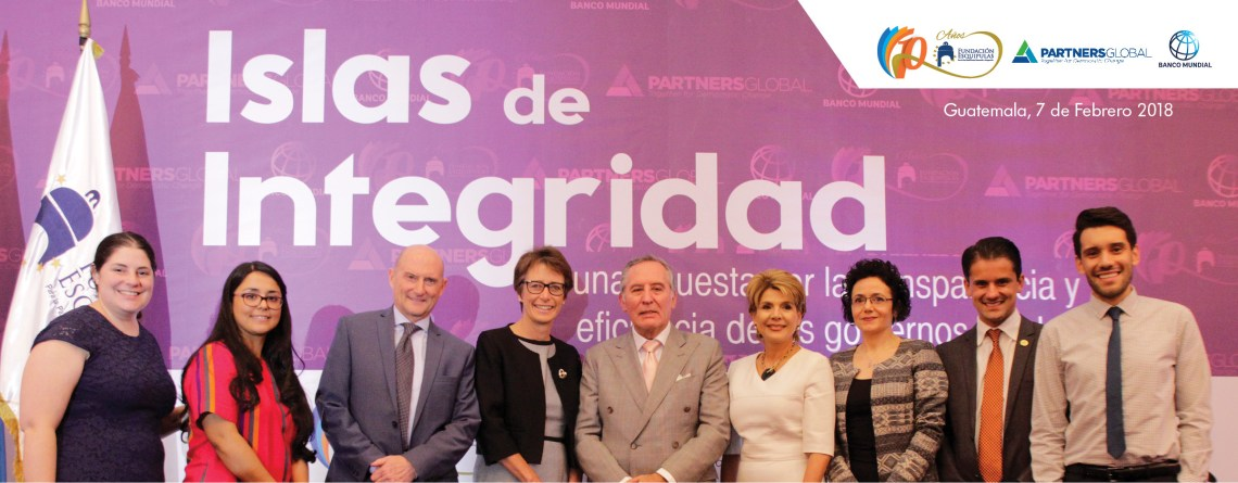 Islas de Integridad, una propuesta alternativa y preventiva