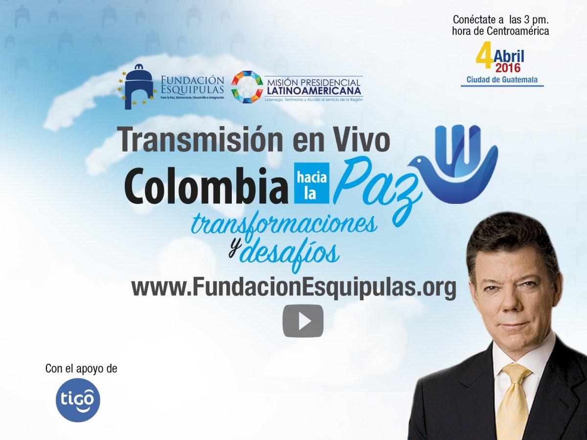 pagina web fundacion - transmision en linea- conferencia colombia