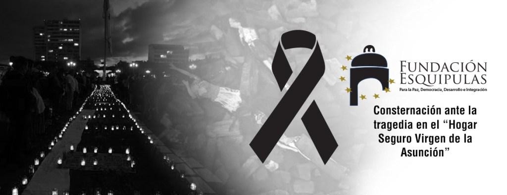 """Ratificamos nuestra consternación ante la tragedia en el """"Hogar Seguro Virgen de la Asunción"""""""