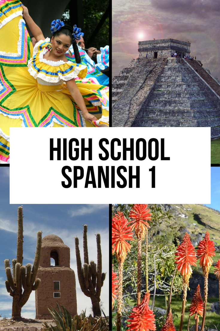 Online Spanish high school class for homeschoolers
